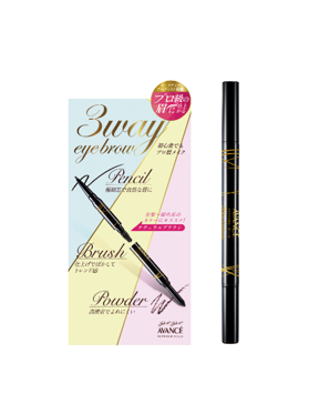 JOLI ET JOLI ET 3WAY EYEBROW NATURAL BROWN / OLIVE BROWN